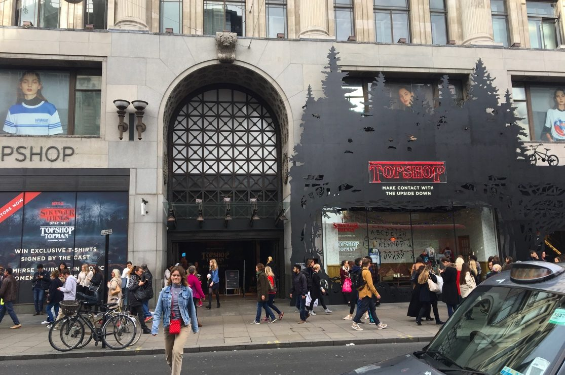 Top Shop Oxford Street